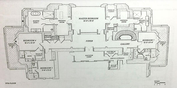 The-floor-plan-for-Penthouse-76-at-220-Park-South