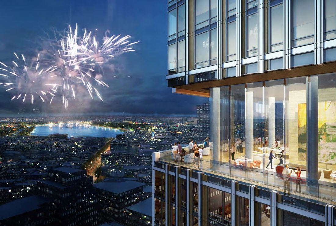 Facade Installation Underway at Residential Tower of 45-Story Bulfinch Crossing