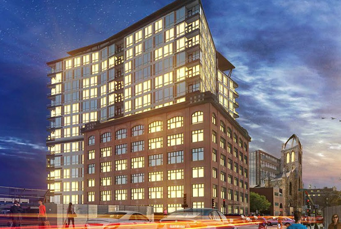 100 Shawmut Tops Off - 138 Luxury Condos Coming to South End