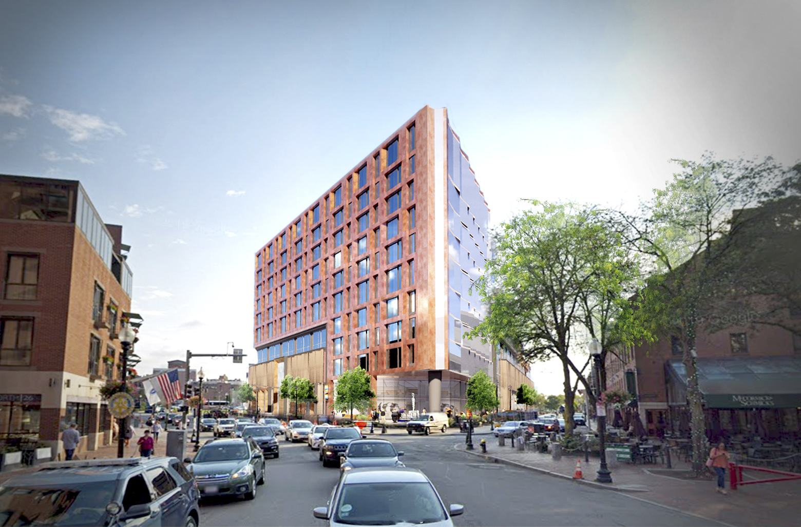 Dock Square Garage Project Moves Forward - To Bring 209 Condos to Corner of Faneuil Hall and Rose Kennedy Greenway