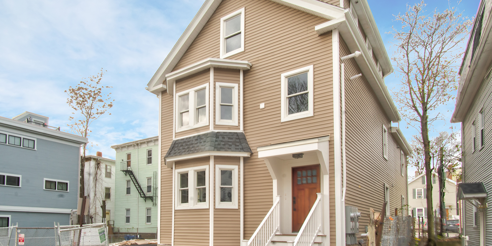Check Out These Two Newly-Renovated Duplex Condos Now Available in Jamaica Plain's Jackson Square