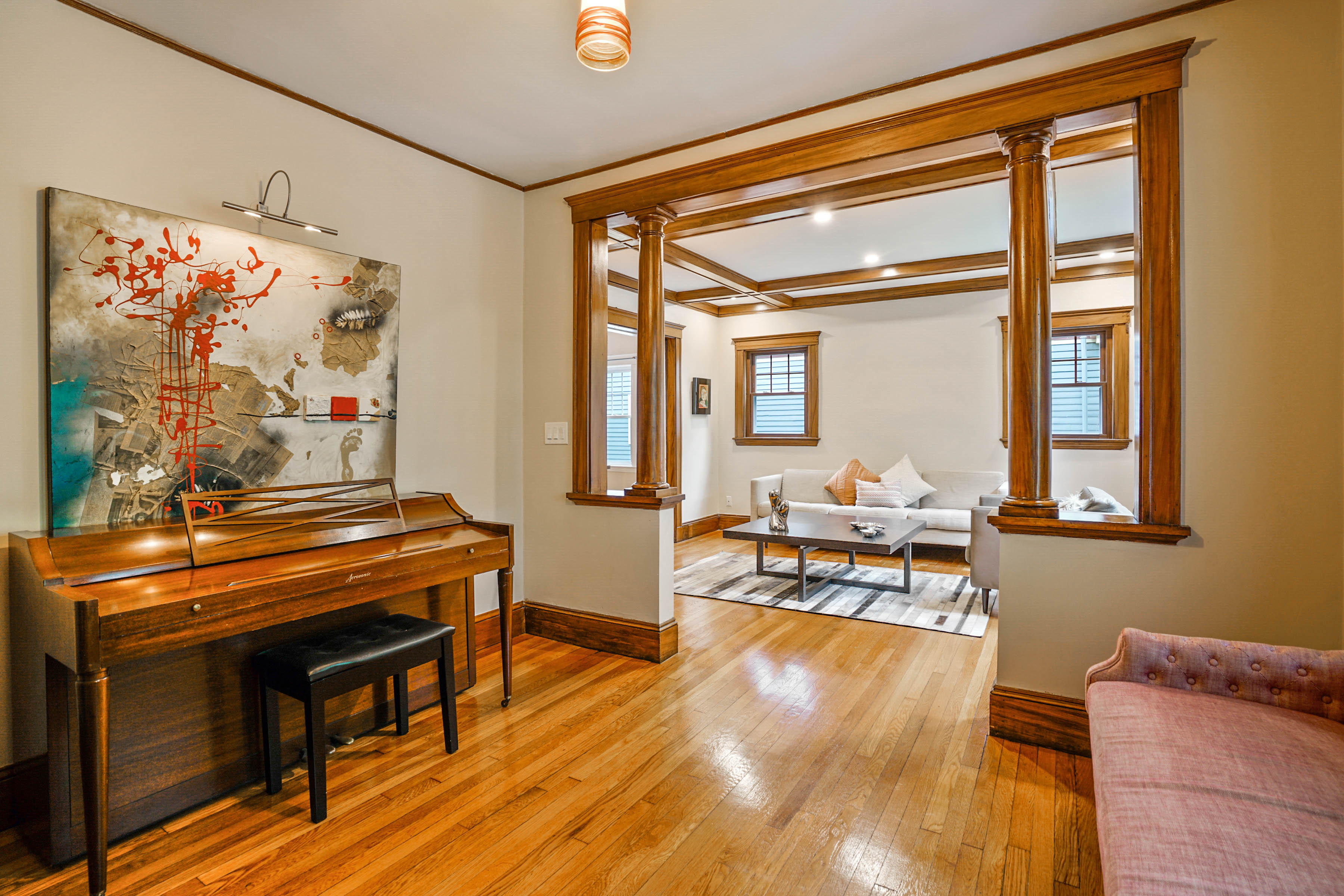 Virtual Tour: Step Inside this Exquisite Two-Bedroom Condo For Sale in Brookline's Coolidge Corner - $1.2M