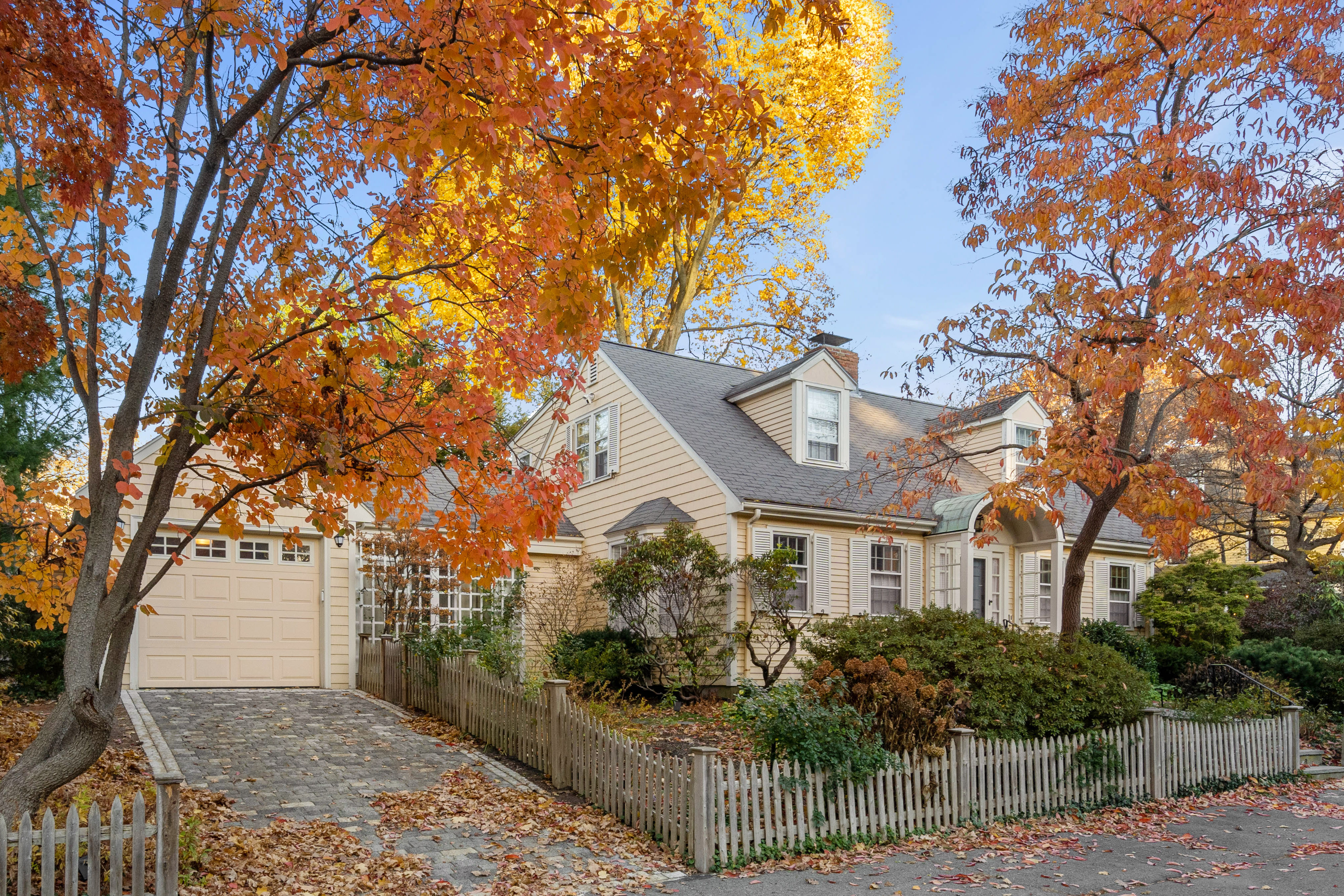 Just Listed: Storybook Single Family Home is a Touchstone of Cape Revival Architecture in Brookline