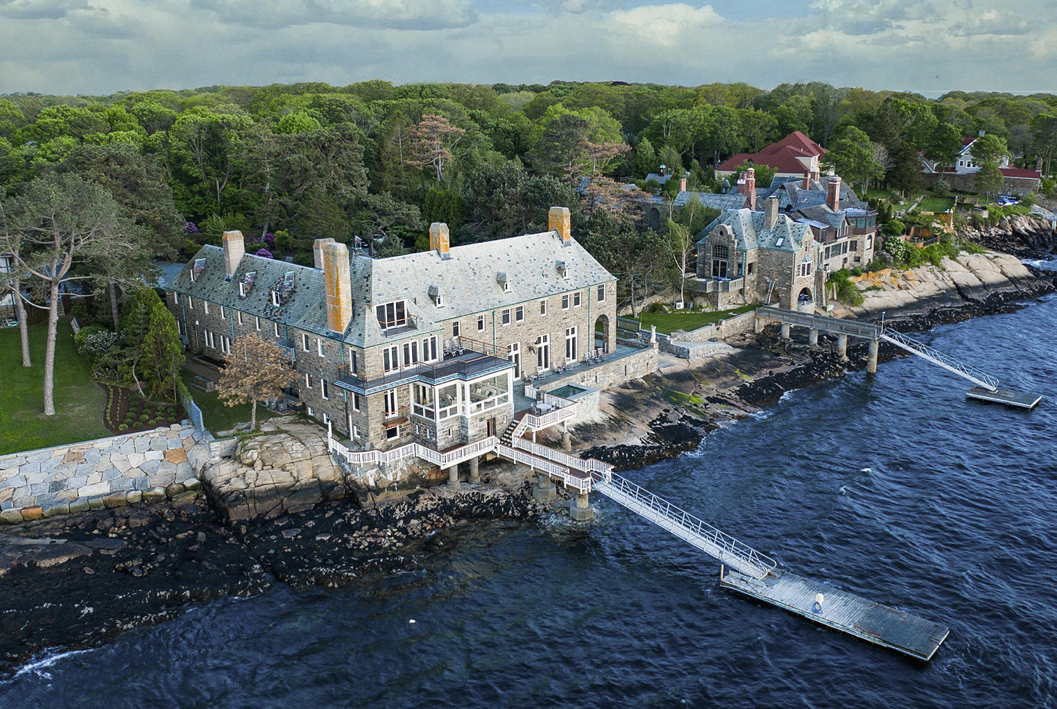The Rich History Behind Stoneacre: A 9+ Bedroom Waterfront Estate in Gloucester, MA