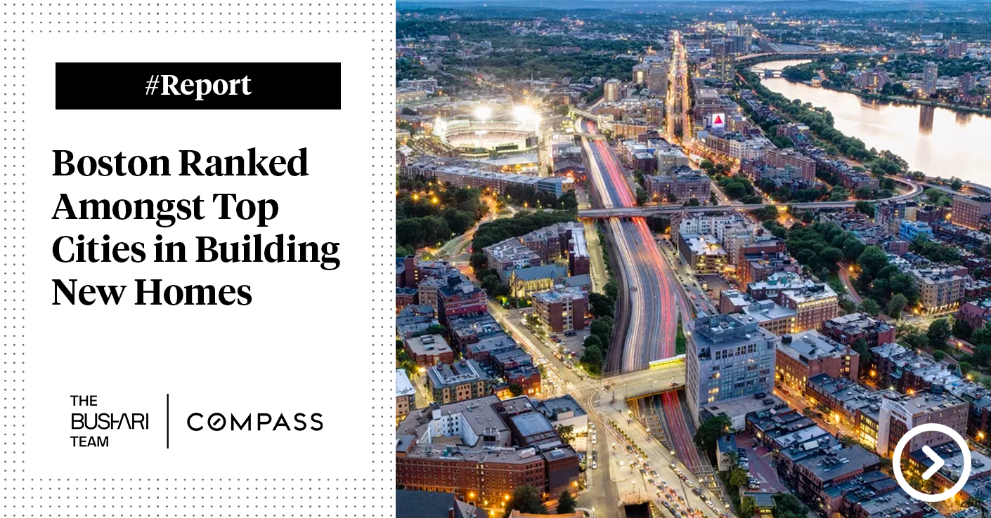 [Report] Boston Ranked Amongst Top Cities in Building New Homes