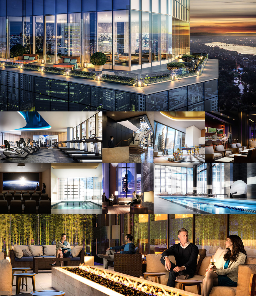 Millennium Tower Takes the Private Club to New Heights