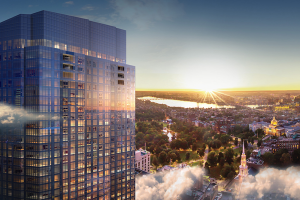 The Mega Towers of the New Boston Skyline