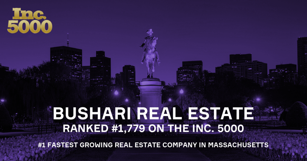 Bushari Real Estate Named by Inc. 5000 as One of the Nation's Fastest Growing Companies