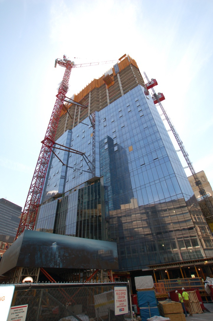 Half-Way There: Boston's Millennium Tower is Rising Above