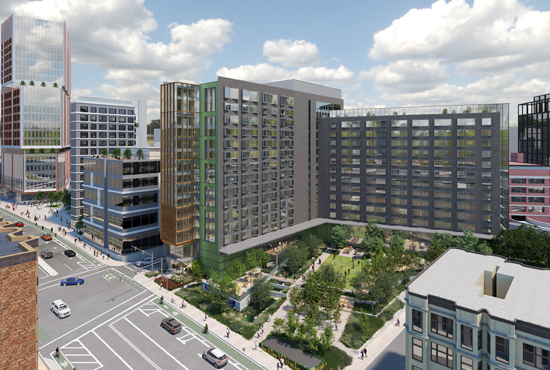 Developer Proposes 500 Unit Building in Fenway, Including Housing For Boston Children's Hospital Families