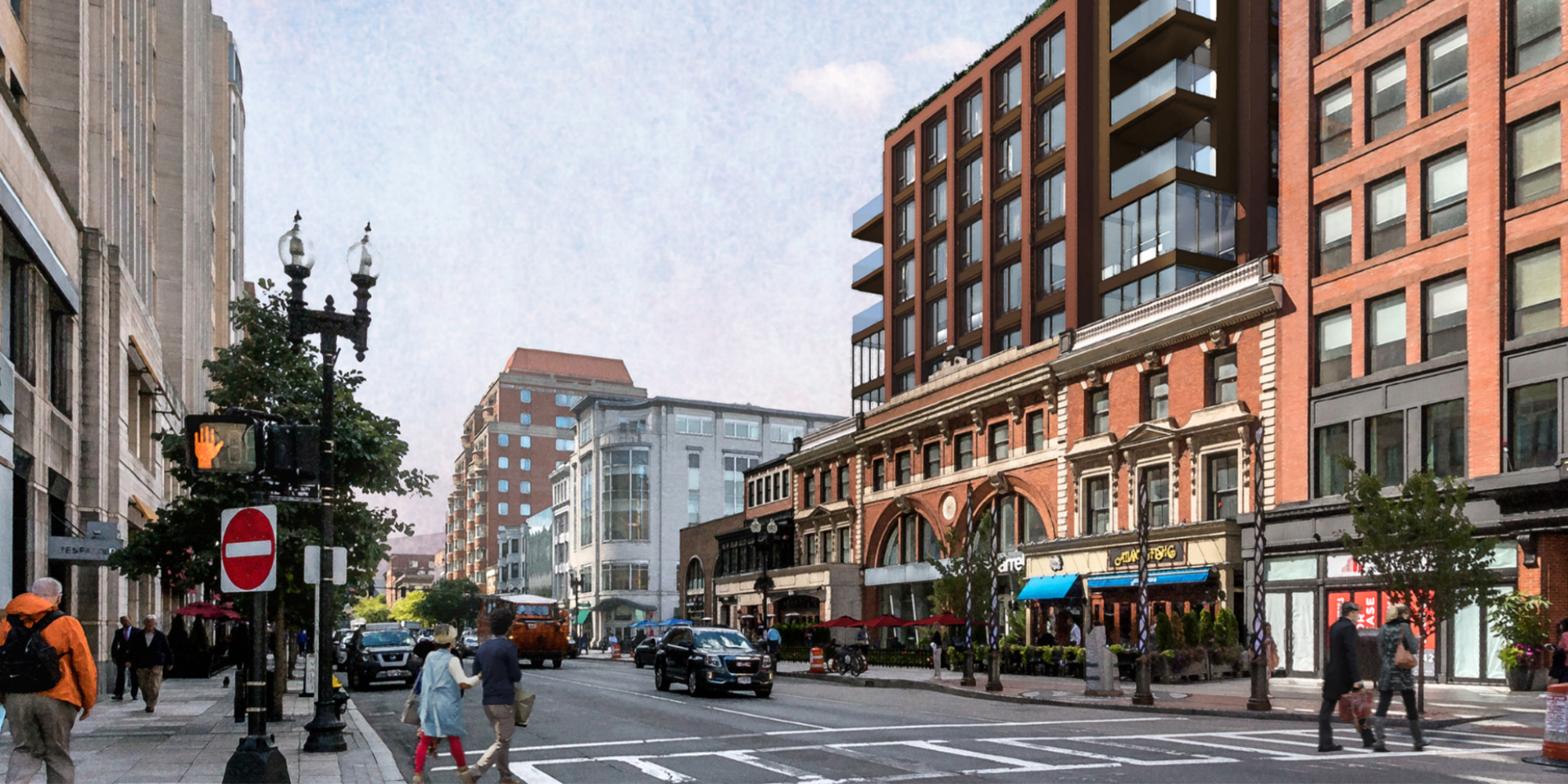 Back Bay Project Proposes Residential, Retail and Office Space Above Stretch of Historic Buildings