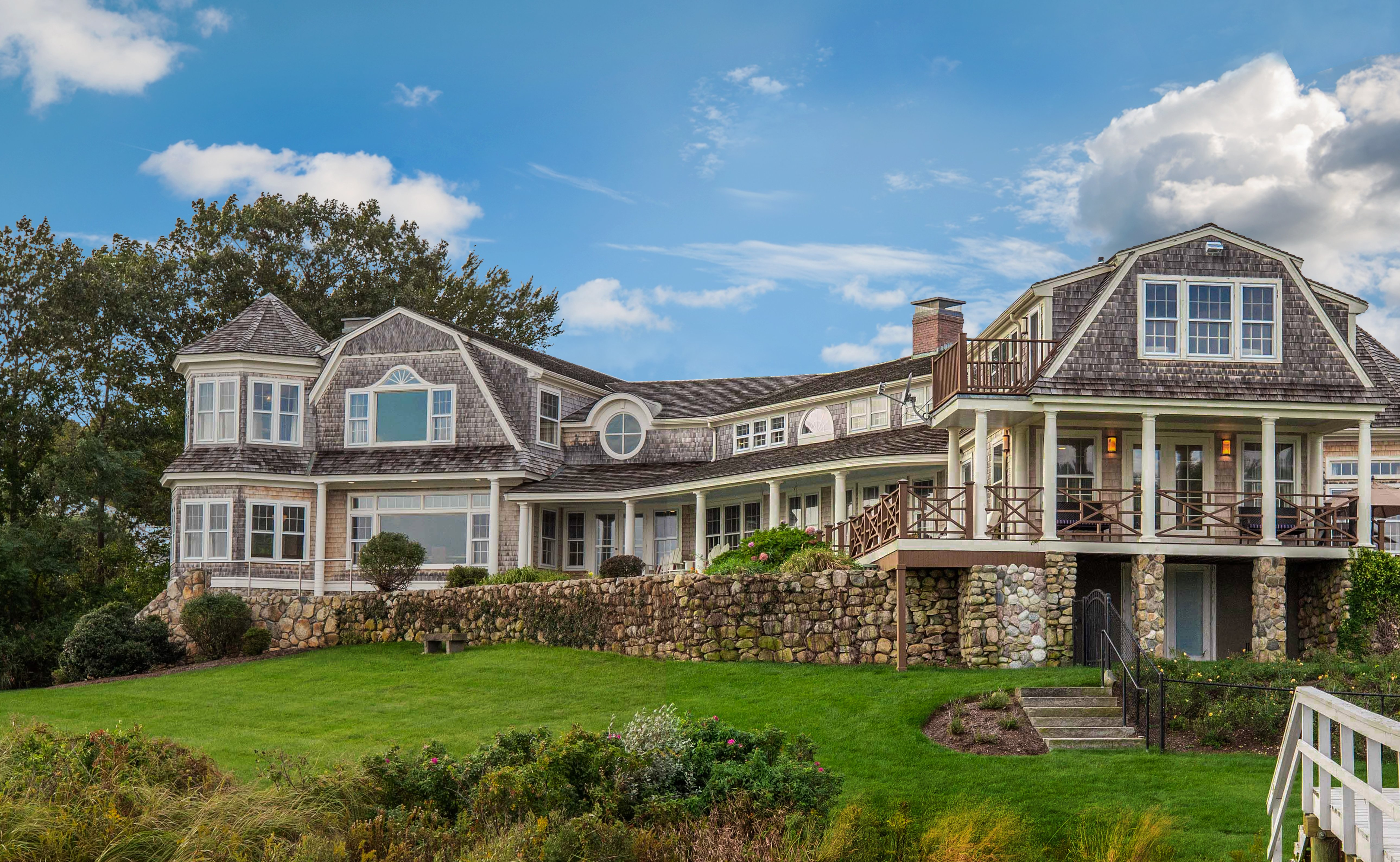 A History of 59 Pill Hill Lane - A Palatial Waterfront Estate Now For Sale in Duxbury at $8.9M