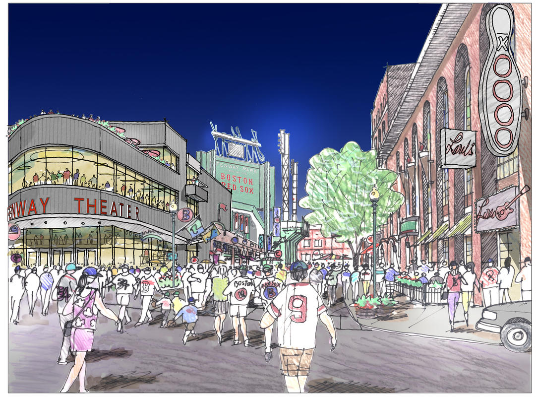 A 5,000-Seat Theater May Be Constructed Next to Fenway Park