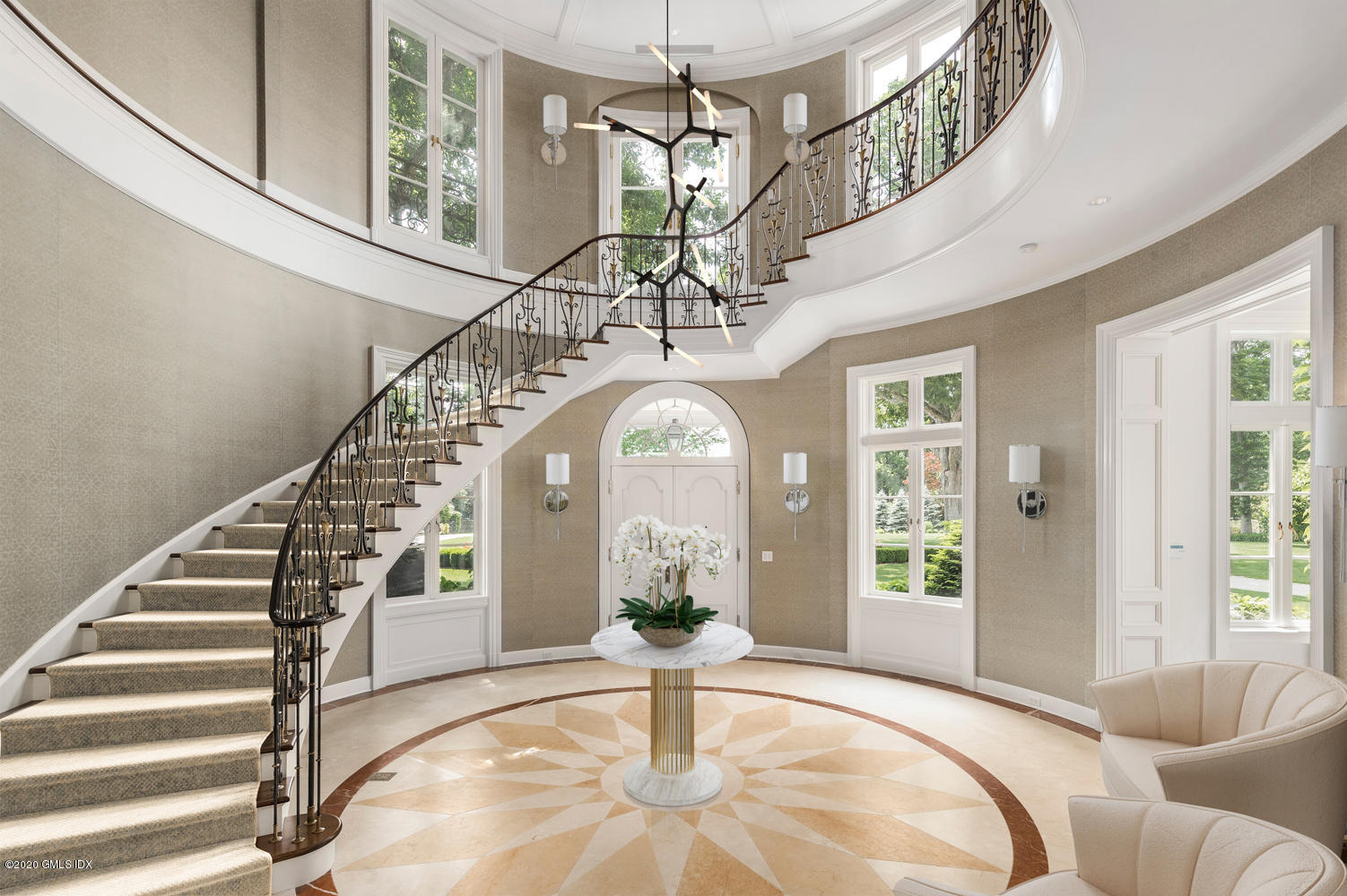 A Look Inside Amarpali: A $24.9M French Country Estate Now For Sale in Greenwich, CT