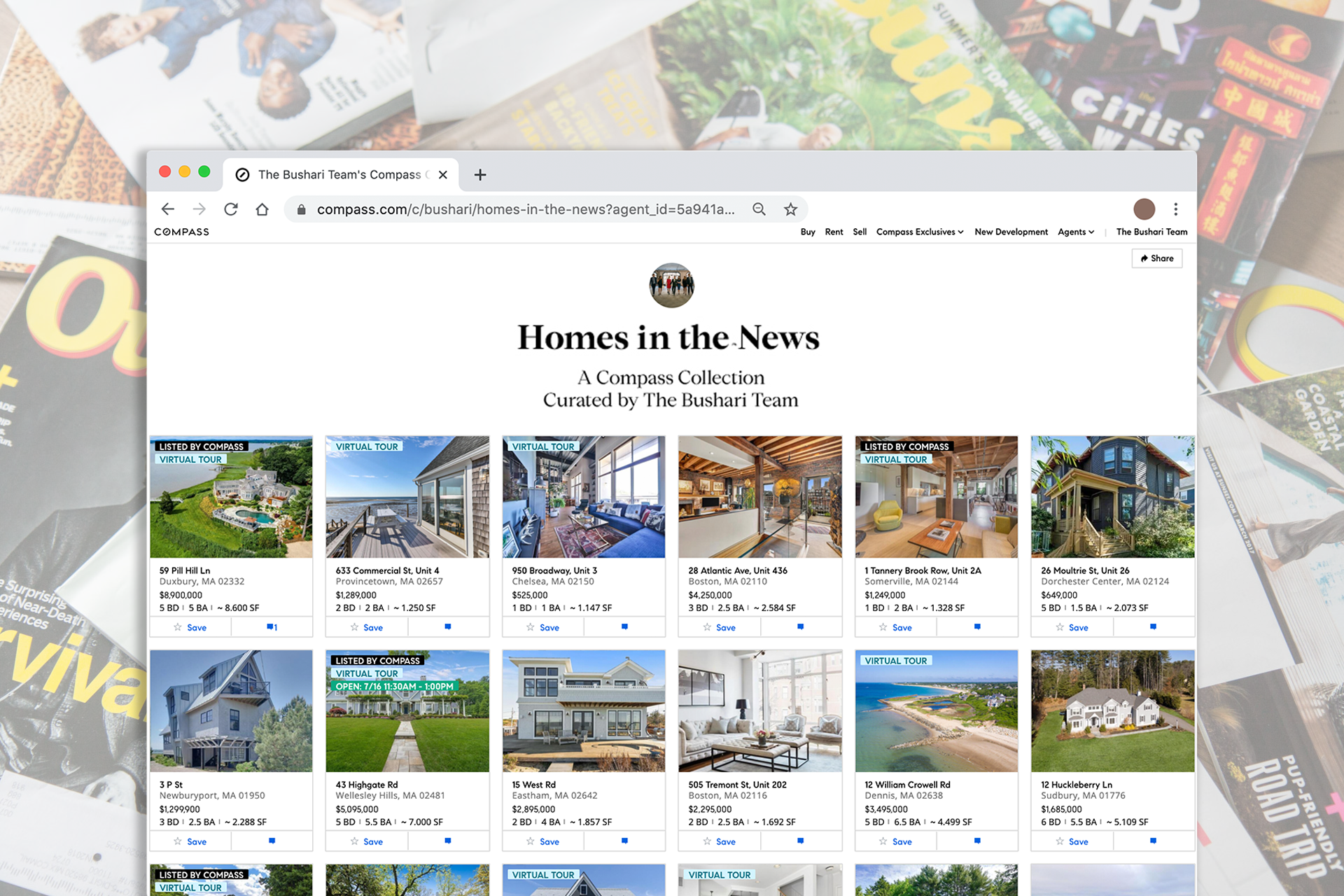 Compass Curated: A Collection of Homes Featured in the News