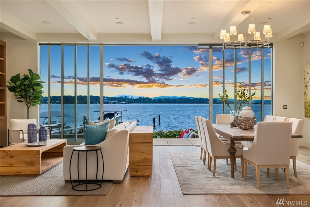 Luxury Home of the Week: Take in Some of Seattle's Best Lake Views from this Northwest Contemporary Abode - $11.95M