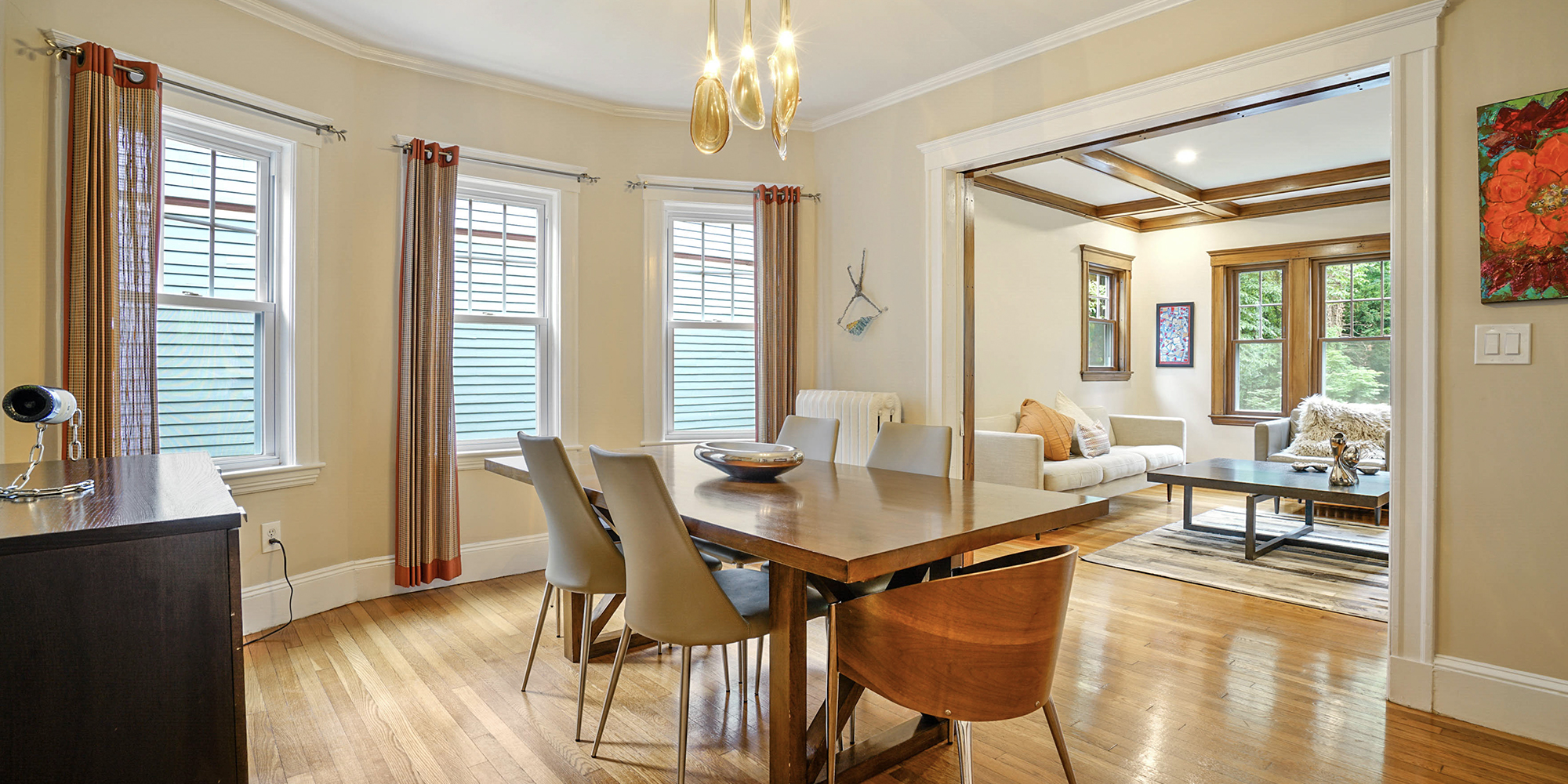 This Exquisite Coolidge Corner Two-Bedroom Condo Comes with 2 Porches and 3 Parking Spaces - $1,050,000
