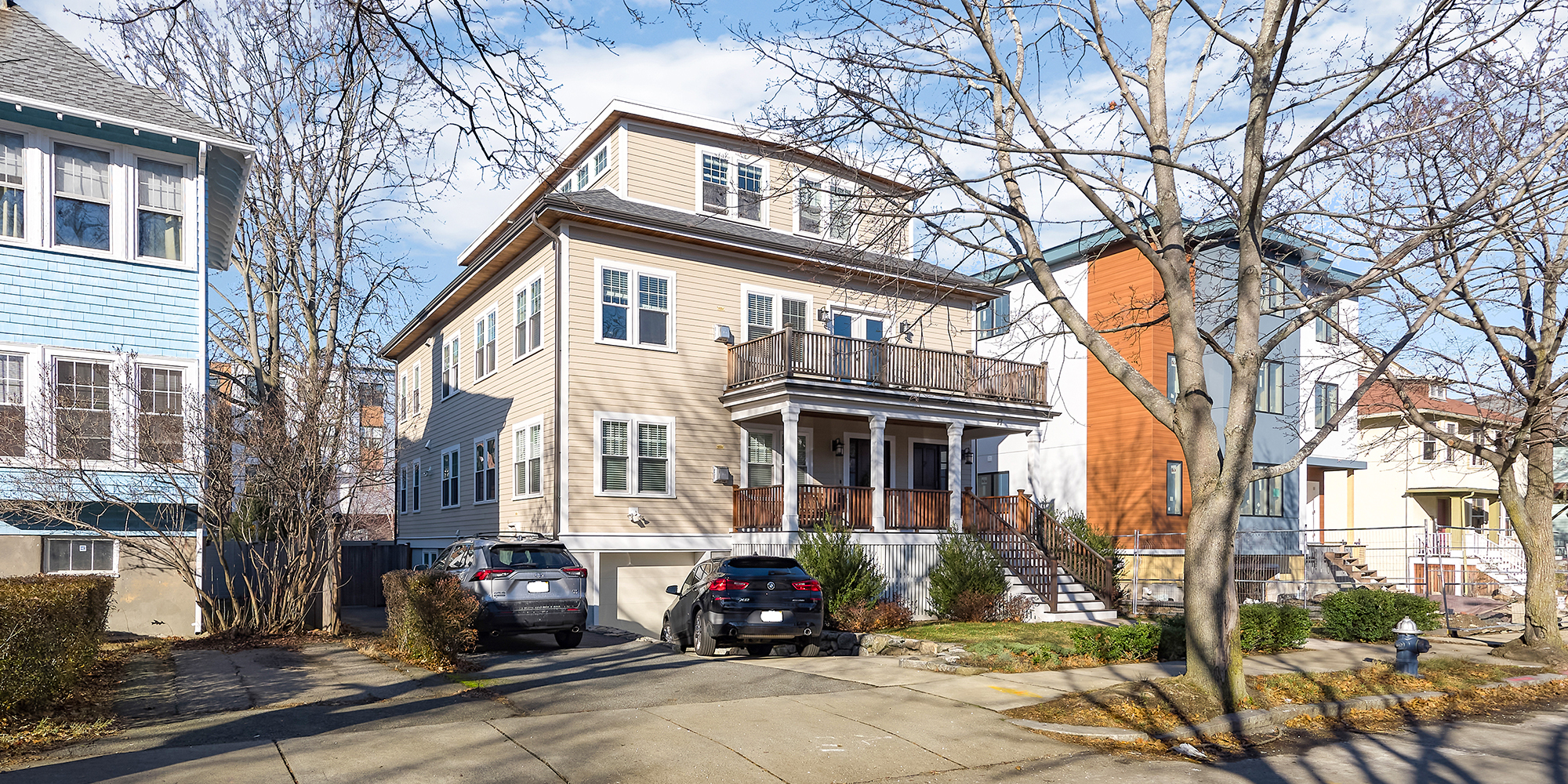 A Rare Find in Coolidge Corner - Newly Listed 3+Bedroom Condo with Garage Parking & Private, Fenced Yard