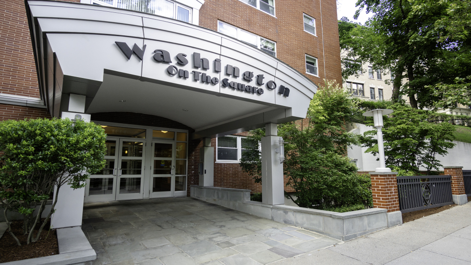 JUST LISTED: Sun-Filled Studio in the Heart of Brookline's Washington Square